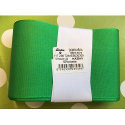 Taftová stuha zelená 72mm