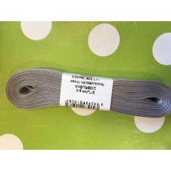 Taftová stuha šedá 9mm