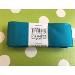 Taftová stuha modrá 40mm