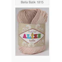 Bella batic - světle melírovaná hnědá