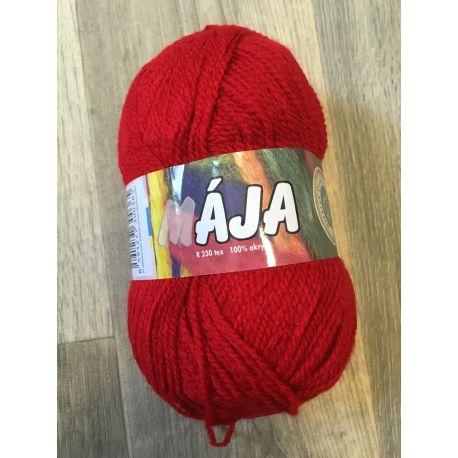 Mája - červená