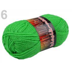 Pletací příze Elian Neon - zelená