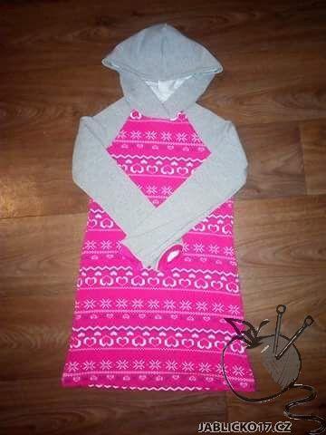 Šaty - teplákové