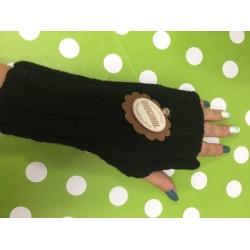 Návleky na ruce - černá