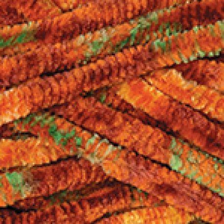 Dolce zeleno oranžový melír