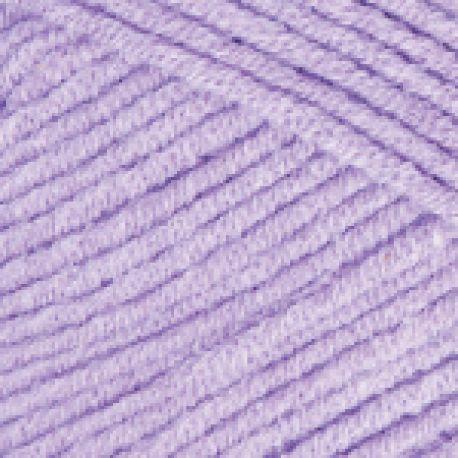 Háčkovací příze GINA (Jeans) - fialová