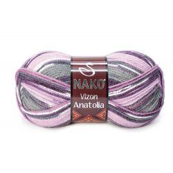 VIZON ANATOLIA fialový melír