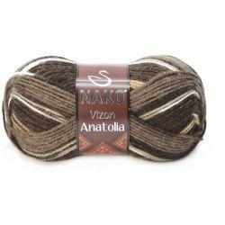 VIZON ANATOLIA hnědý melír