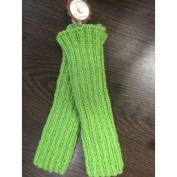 Návleky na nohy zelená