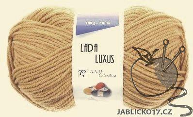 Pletací příze Lada luxus - písková