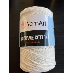 Macrame cotton smetana
