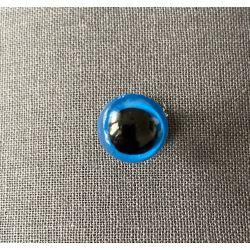 Bezpečnostní oko 12mm modrá